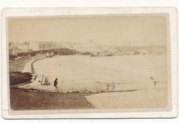 BIARRITZ, Front De Mer -  Photo CDV - Antiche (ante 1900)