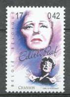 [154130]TB//**/Mnh-BELGIQUE 1999 - N° 2871, Edith Piaf, Chanson Française, Célébrités, Chanteuse.SNC - België