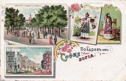 BULGARIE-SOFIA-GRUSS-N°1789 - Bulgarie