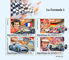 NIGER 2019 - Formula 1: Renault, Ferrari, Mercedes. Official Issue - Cars