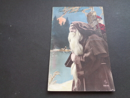Carte ( 496 ) Fantaisie  Fantasie - Thème : Sinterklaas  Saint - Nicolas  Sint - Niklaas - Sinterklaas