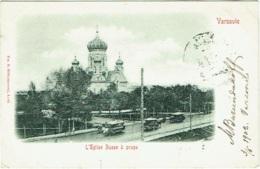 Varsovie. Eglise Russe à Praga. - Polen