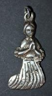 """Pendentif Médaille Religieuse Argent 925 """"Sainte Bernadette Soubirous"""" Silver Religious Medal - Religion & Esotérisme"""