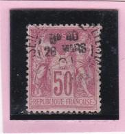 SAGE N° 104  Type III - CACHET A DATE MARSEILLE  - 26 MARS 1901- REF 1602 - 1898-1900 Sage (Type III)