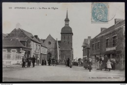 IFFENDIC (I.-et-V.)- La Place De L'Eglise - Sonstige Gemeinden