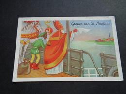 Carte ( 518 ) Fantaisie  Fantasie - Thème : Sinterklaas  Saint - Nicolas  Sint - Niklaas - Saint-Nicolas
