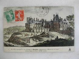 Vue Et Perspective Du Château De MEUDON Appartenant à Messieurs De Guise - Meudon