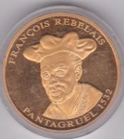Medaille Francois Rabelais. Pantagruel 1532 - L'Histoire De France. FDC - Otros