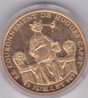 Medaille Le Couronnement De Hugues Capet 3 Juillet 987  - L'Histoire De France. FDC - Otros