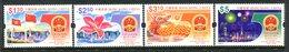 Hong Kong - China 1999 50th Anniversary Of People's Republic Of China Set MNH (SG 969-72) - 1997-... Chinese Admnistrative Region