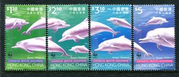 Hong Kong - China 1999 Endangered Species - Indo-Pacific Hump-backed Dolphin Set MNH (SG 995-98) - 1997-... Chinese Admnistrative Region