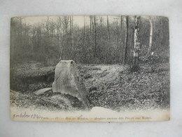 Bois De MEUDON - Menhirs Anciens Dits Pierre Aux Moines - Meudon