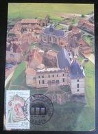 France - CP Maximum - Dordogne - Biron - 1989 - France