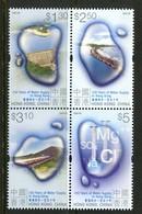 Hong Kong - China 2001 150th Anniversary Of Public Water Supply Block MNH (SG 1053a) - 1997-... Chinese Admnistrative Region