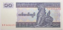 Myanmar - 10 Kyats - 1997 - PICK 71b - NEUF - Myanmar