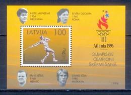 C42- Latvija Latvia 1996 Atlanta Summer Olympic Games. - Latvia