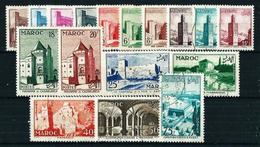 Marruecos (Francés) Nº 345/61º/* Cat.10,80€ - Marruecos (1891-1956)