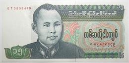 Myanmar - 15 Kyats - 1986 - PICK 62 - NEUF - Myanmar