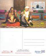 OMAN Postcard Wedding Scene Khasab Castie Musandam - Oman