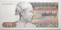 Myanmar - 75 Kyats - 1985 - PICK 65 - NEUF - Myanmar