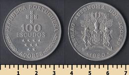 Azores 100 Escudos 1980 - Azores