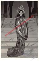 Huberte Vecray - Opera Turandot 1955 - Photo 11x17cm Gehandtekend/signed - Photos