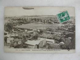 Panorama De La Zone Du Grand MONTROUGE (avec Dirigeable Qui Passe) - Montrouge