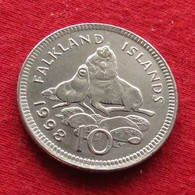 Falkland  Islands 10 Pence 1998 KM# 5.2  Malvinas Malwinen - Falkland Islands