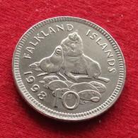 Falkland  Islands 10 Pence 1998 KM# 5.2 *V1 Malvinas Malwinen - Malvinas