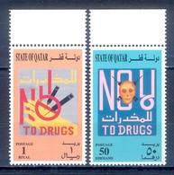 C46- Qatar 1996 No To Drugs. - Qatar