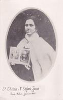 CPA Glacée Sainte Thérèze De L'enfant JESUS - Prise D'habit Janvier 1885 - Religion Catholique Christianisme - Saints