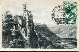49331 Germany (wurttemberg) Maximum 1948  The Castle Of Lichtenstein, Schloss Chateau, Architecture - Zona Francesa