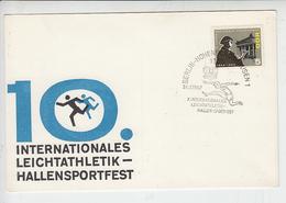 GERMANIA  DDR  1967 - Sport - Atletica - Atletica