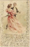 Couple Qui Danse La Valse  (pli ) - Couples
