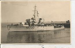 Dragueur De Mines Georges Lecointe. Ex-HMS Cadmus (J230 Puis M230). Papier Agfa. - Equipment