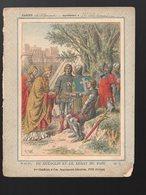 Couverture Illustrée De Cahier D'écolier : N°5 :  Du Guesclin Et Le Légat Du Pape (PPP11424) - Protège-cahiers
