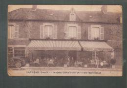 CP - 35 - Landéan - Maison Leray-Cotin - Café-restaurant - Francia