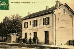 88 Verrerie De Portieux LA GARE Trés Bon Etat - France