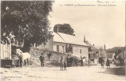 Dépt 02 - CHÉRÊT - Place De La Fontaine - (environs De Bruyères-sous-Laon) - France