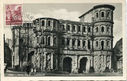49337 Germany (rheinland Pfalz) Maximum 31.12.1949  The Porta Nigra Of Trier, Roman Monument, Architecture, Mi-36 - Zona Francese