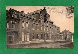59 ANZIN -LA GRANDE BRASSERIE DUBOIS-JENART-CPA Année 1909 Vendue En L'état Déchirure Coté Droit Voir Scannes - Anzin
