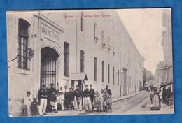 CPA - ALAIS / ALES - La Caserne Toiras - 1906 - Rue Pasteur - Portrait De Soldat & Enfant Dans La Rue - Alès