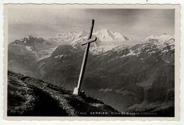 Suisse // Schweiz // Switzerland //  Valais //  Verbier, Croix Du Bisse - VS Valais