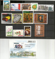 Année Complète 2011.  13 Timbres + 1 B-F Neufs ** Voiture Soriano-Pedroso 1922, Timbre Europa En Liège,Francophonie,etc. - Französisch Andorra