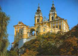 Osterreich - Postcard Unused -    Melk Abbey  , West View - Melk