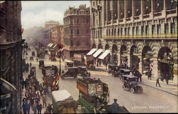 Cp London City England, Piccadilly, Cars - Altri
