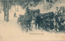 I183 - SUISSE - Bûcherons Dans La Forêt - Schweiz