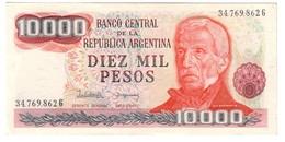 Argentina 10000 Pesos 1976 UNC - Argentina
