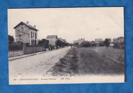 CPA - FRANCONVILLE - L' Avenue Pasteur - Signée Lucienne BUFFEREAU - Rue Maison Architecture Urbain - Franconville