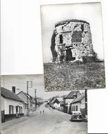 EAUCOURT - Lot De 2 Cartes Semi Modernes - Andere Gemeenten